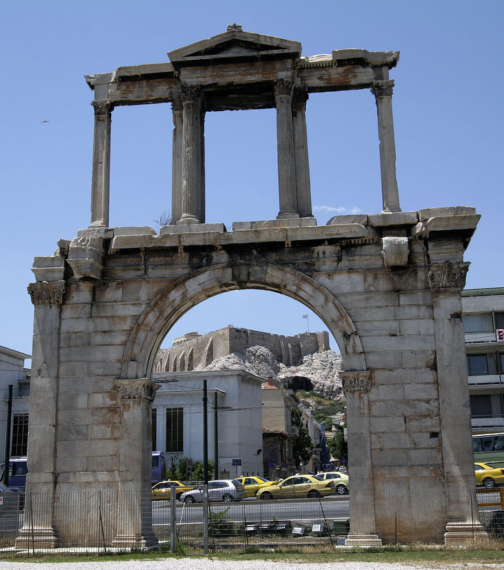 Athens -- The Arch of Hadrian