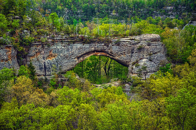 'Natural Arch' ~ Natural Bridge State Resort Park, KY