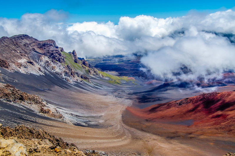 Haleakala National Park in Maui