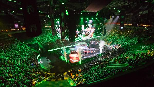 Underlord reveal at The International 2016 (KeyArena, Seattle)