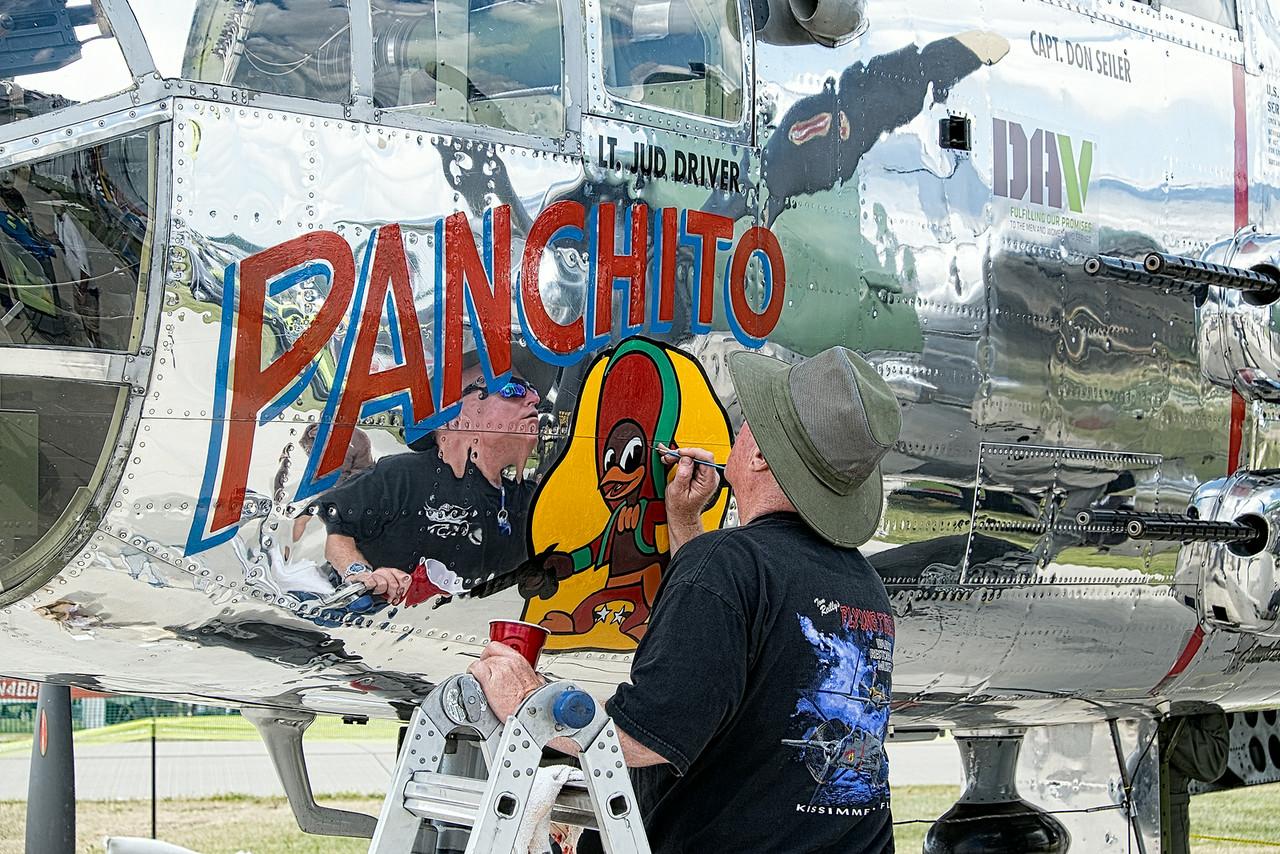 Panchito Touchup