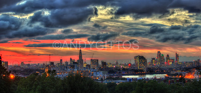 London Shyline Sunset