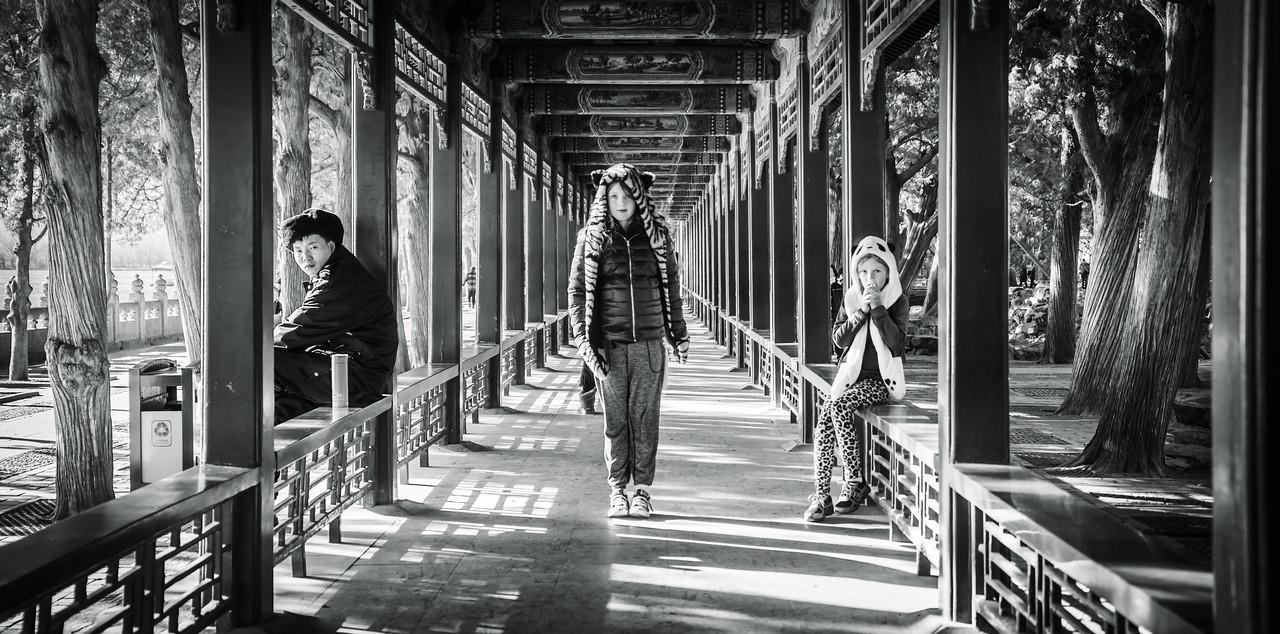 Visiting The Summer Palace In China
