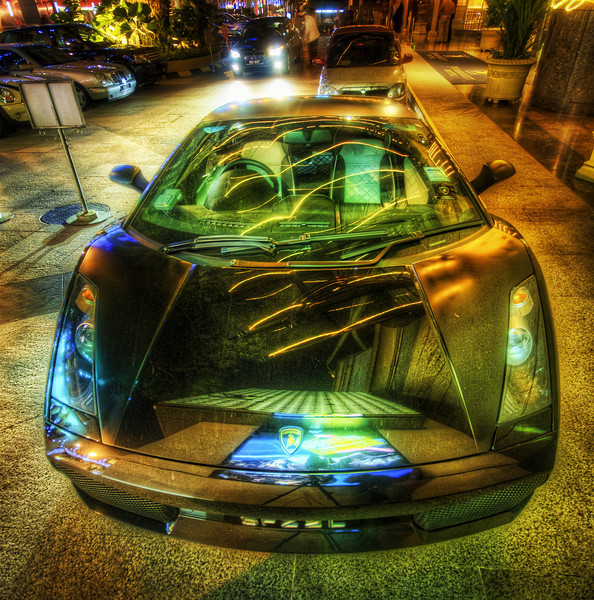 "<h2>Ripping Through the World</h2> <br/>I know everyone has their own various tastes for HDR, and mine is all over the map!  Sometimes I really feel artsy and go crazy with one, like this car above.  It's hard with awesome cars... because the reflectivity in HDR is so off the map.<br/><br/>I've been meaning to get to one of those high-end car shows and go crazy with my tripod.  I've heard the Concours d'Elegance in Pebble Beach is really one of the best in the world... but maybe you all know of some other stellar car shows you can recommend?<br/><br/>- Trey Ratcliff<br/><br/><a href=""http://www.stuckincustoms.com/2010/05/07/ripping-through-the-world/"" rel=""nofollow"">Click here to read the rest of this post at the Stuck in Customs blog.</a>"