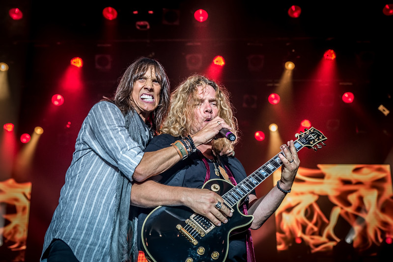 Jeff Keith and Frank Hannon (Tesla)