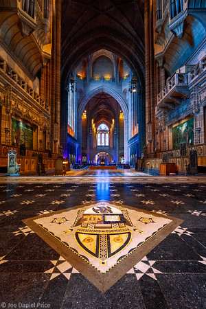 The Anglican Cathedral, Fifth largest Cathedral in the World, Liverpool, England