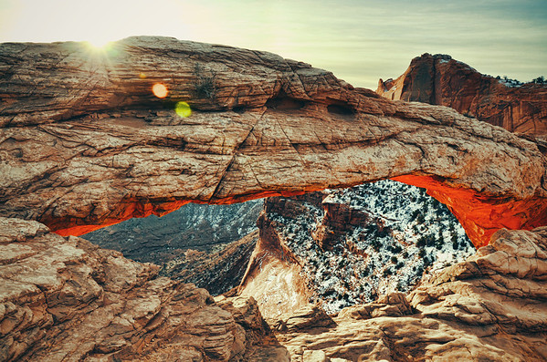 'Ancient Arch' ~ Canyonlands National Park, UT