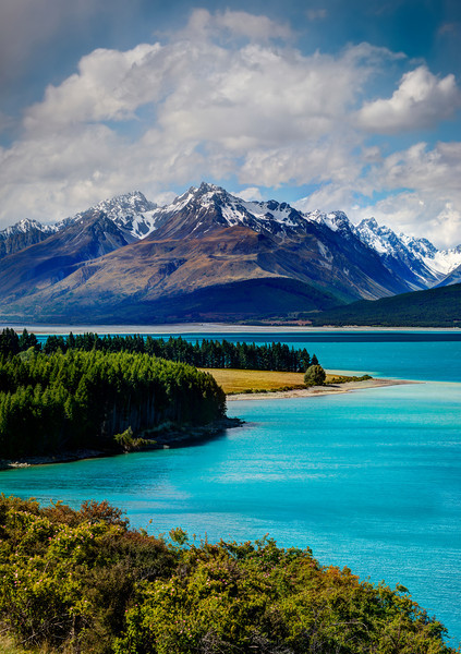 """<h2>The Blue of Lake Pukaki</h2> <br/>This is the view that you get on the way to Mt. Cook. It was my first time going there… and I was so happy to see the amazing color of the water! I don't know if it is like this all the time, but I figure it is. I'm about to go for a second trip, so I will report back soon!<br/><br/>There are many places to stop along the road to get this shot. I think I could get a better one if I did a bit more hiking, but I was feeling a bit lazy this day!<br/><br/>- Trey Ratcliff<br/><br/><a href=""""http://www.stuckincustoms.com/2013/01/18/the-blue-of-lake-pukaki/"""" rel=""""nofollow"""">Click here to read the rest of this post at the Stuck in Customs blog.</a>"""