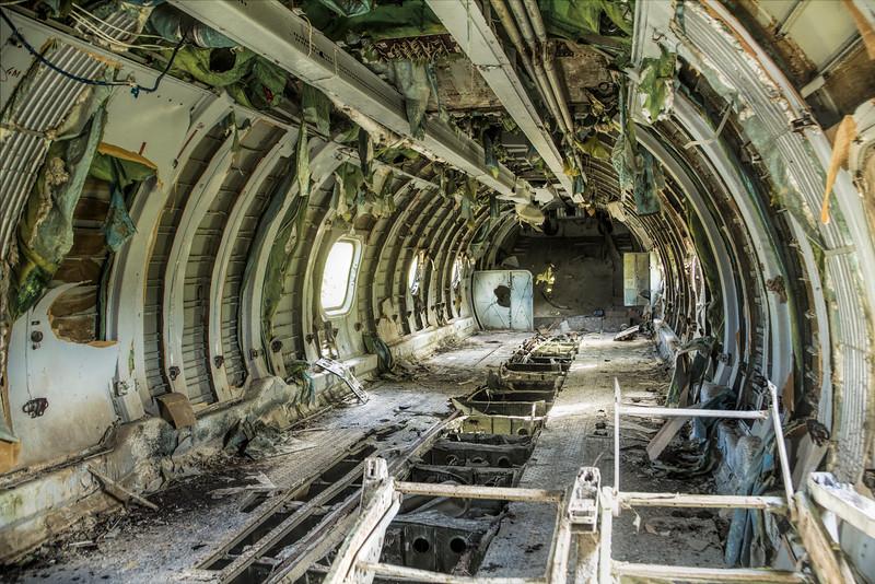 Bare guts - Soviet AN-26