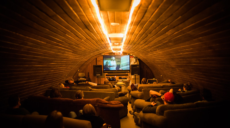 Watching The Big Lebowski In Antarctica