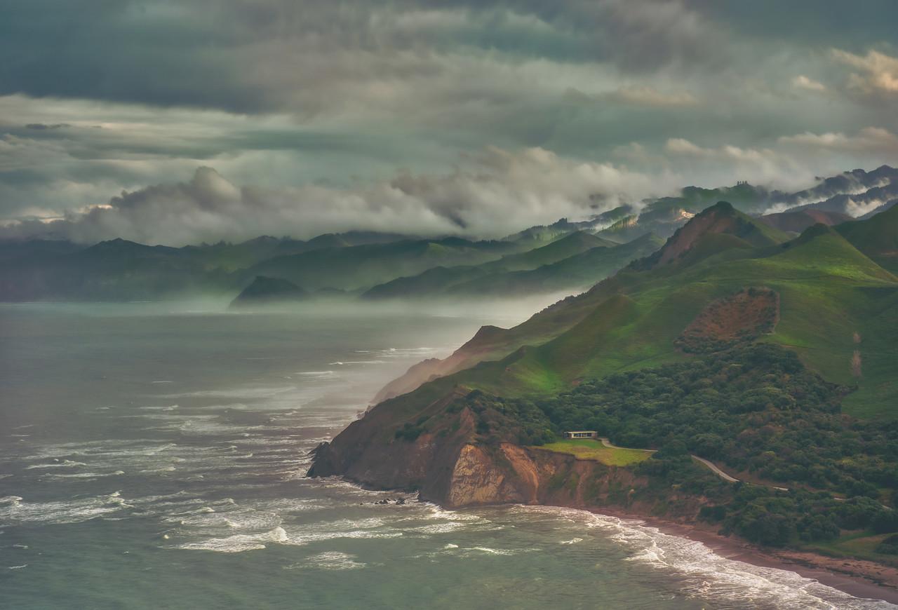 The Coast of New Zealand's North Island