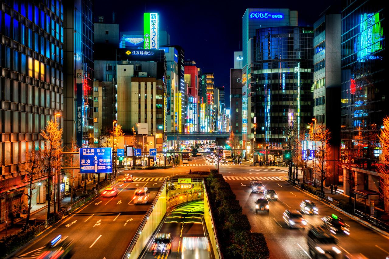 Tokyo Through the Glass