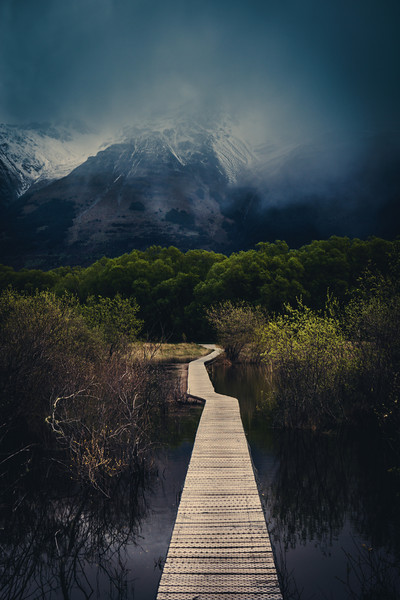"""<h2>The Walking Path in Glenorchy</h2> <br/>This is a new walking path that has just been built through the woods and wetlands of Glonorchy. As far as I know, it is pretty rare to have wetlands so close to towering mountains, isn't it? I suppose I always think of the wetlands in flat areas, like Louisiana and places like this.<br/><br/>There are a few different routes to take. Some take just an hour, and others take a few. I want to go back to this area with some more time!<br/><br/>- Trey Ratcliff<br/><br/><a href=""""http://www.stuckincustoms.com/2012/12/11/the-walking-path-in-glenorchy/"""" rel=""""nofollow"""">Click here to read the rest of this post at the Stuck in Customs blog.</a>"""