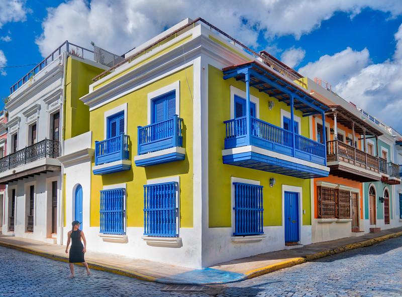 A Colorful Corner In Old San Juan