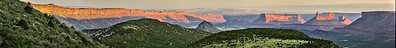 Castle Valley Sunrise Panorama