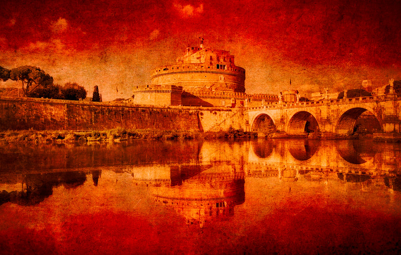 Angels Fortress in Rome
