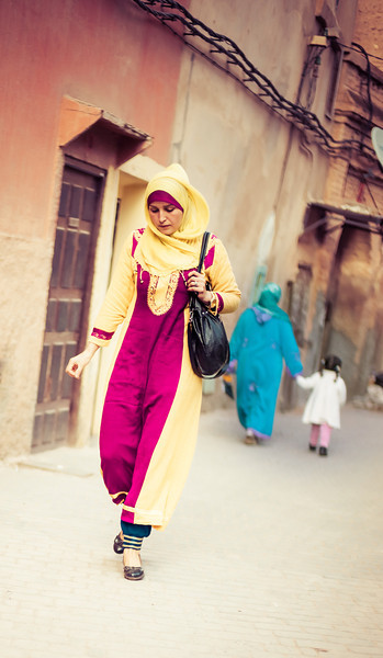 Woman in Fes