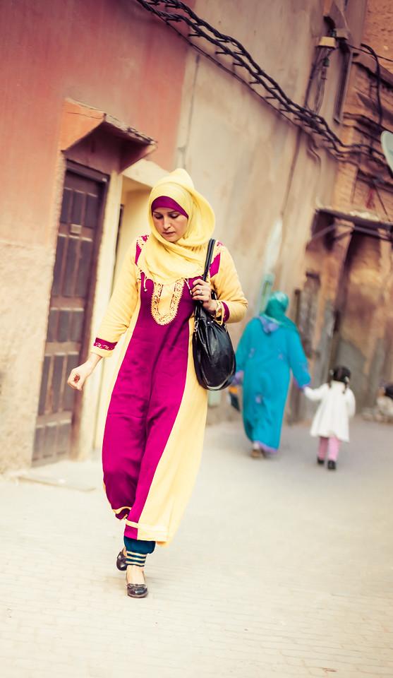 Woman in Fes
