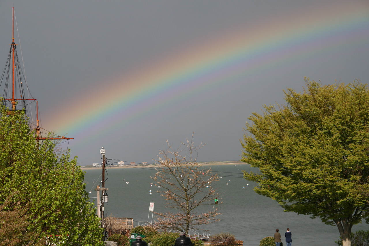 Plymouth Harbor Rainbow 2