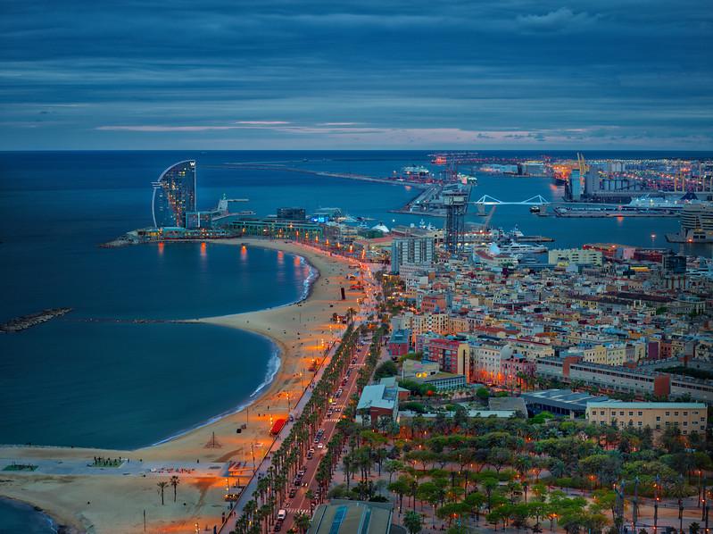 Down The Coast Of Barcelona