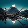 Reflections at Milford Sound