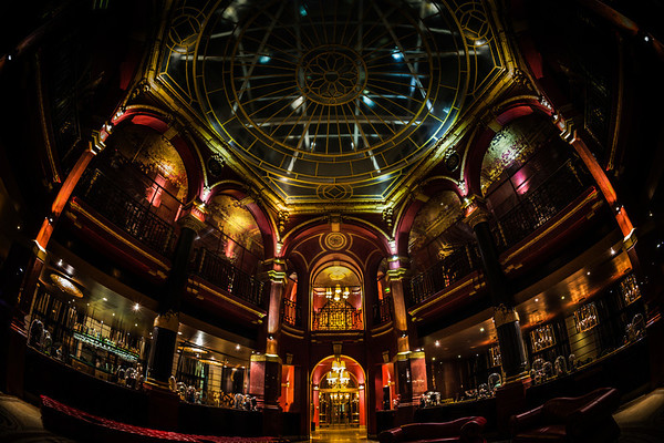 Fisheye in the Hotel Banke I was very happy to experiment with the fisheye lens while I was in Paris. I borrowed Tom's, and that pushed me over the edge to buying one for myself. Prior to this, I had rented one, but never really liked it very much. I think maybe because I took a lot of people photos, and they were just tooooo artsy and weird for me (which is saying a lot), but I really found using the fisheye on architecture and things like this to be a lot of fun!- Trey RatcliffClick here to read the rest of this post at the Stuck in Customs blog.