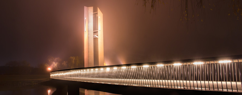 Foggy Carillion Evening
