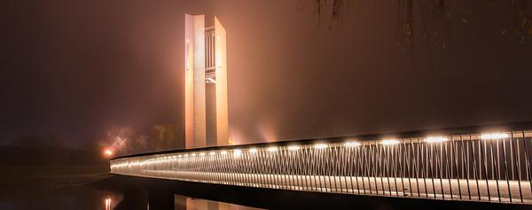 Foggy Carillion Evening