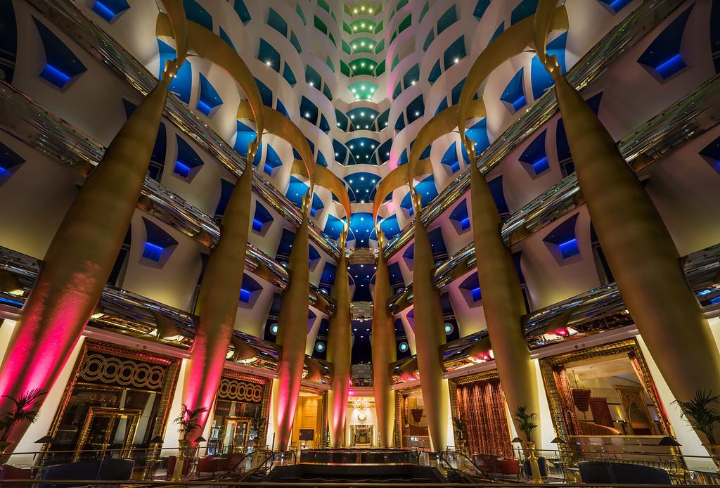 The Insides Of The Burj Al Arab