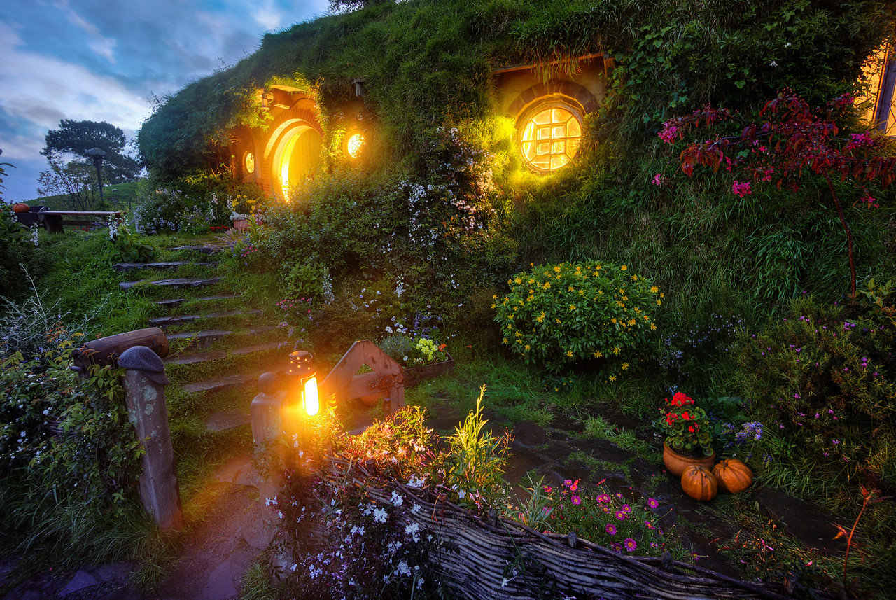 Bilbo's Hobbit Hole in Bag End