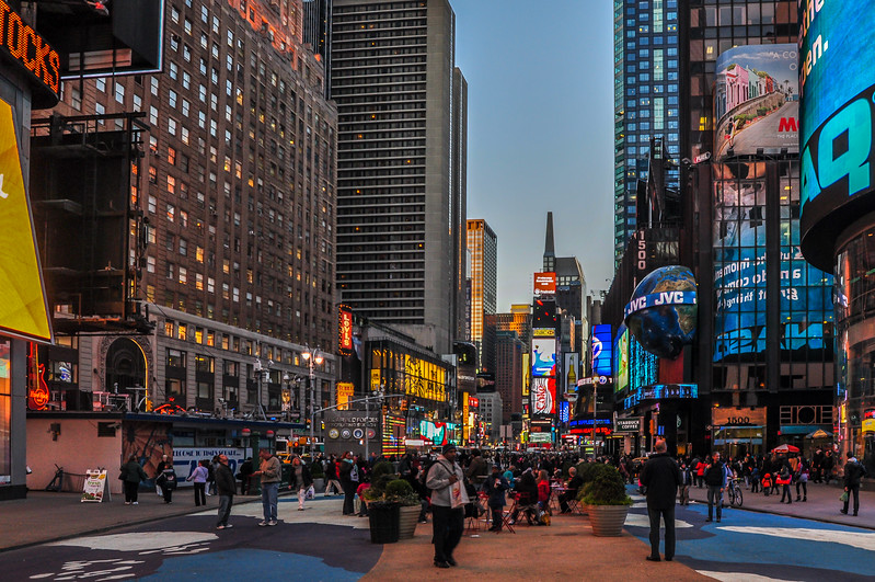Evening at Times Square 2011