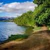 Walking Along Arrowtown Lake