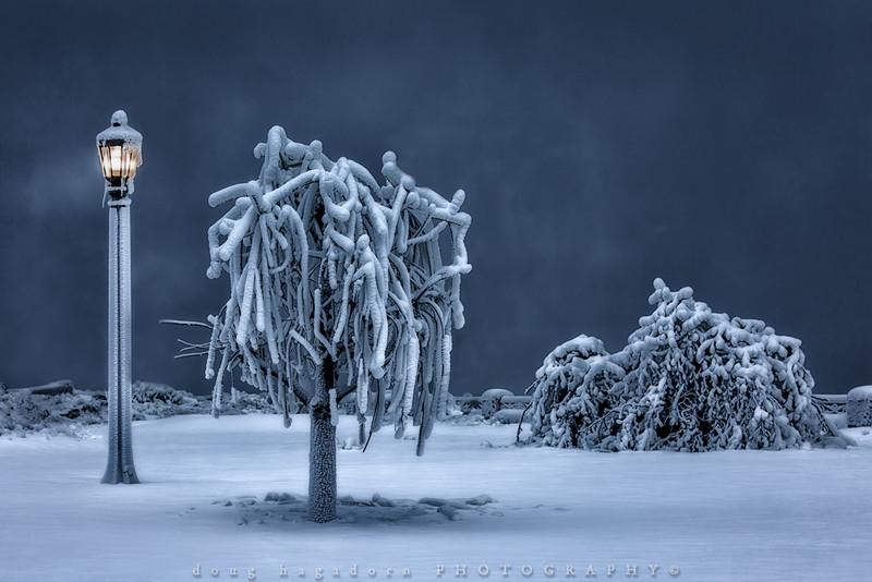 Niagara's Winter Blues (#0165)