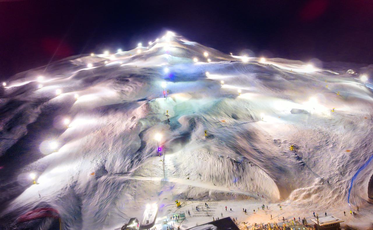 Having A Night Ski At Coronet Peak
