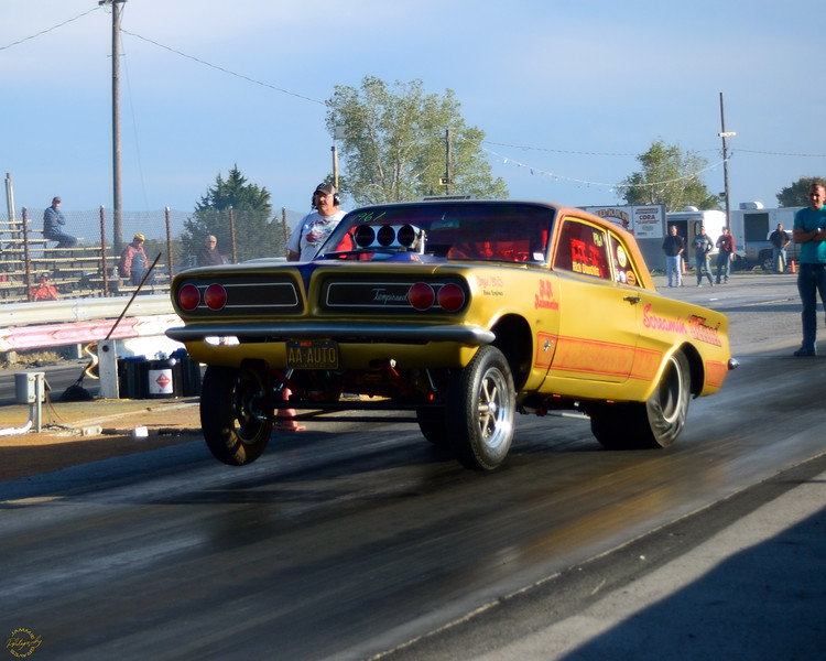 Drag racing roots