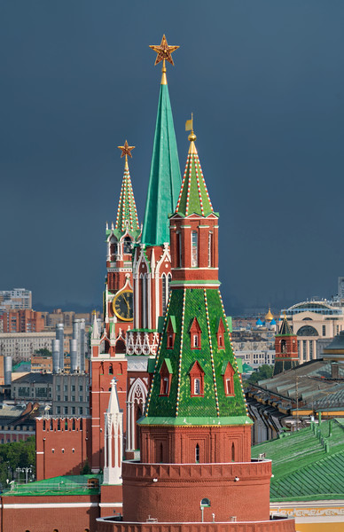 Russian architecture is quite unique, and I gave myself a little challenge while there. I tried to get as many zoom-in telephoto shots as possible to focus on the most distinctive aspects of the architecture. The most obvious default photo is to get a shot of the entire building, so I took extra care to zoom in on some of the most remarkable elements. I try to give myself different challenges from time to time so that I don't fall into predictable patterns.  - Trey Ratcliff  Click here to read the rest of this post at the Stuck in Customs blog.