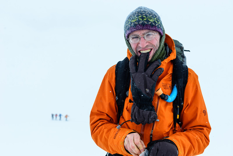 Dave Cook, Valhalla Range, British Columbia