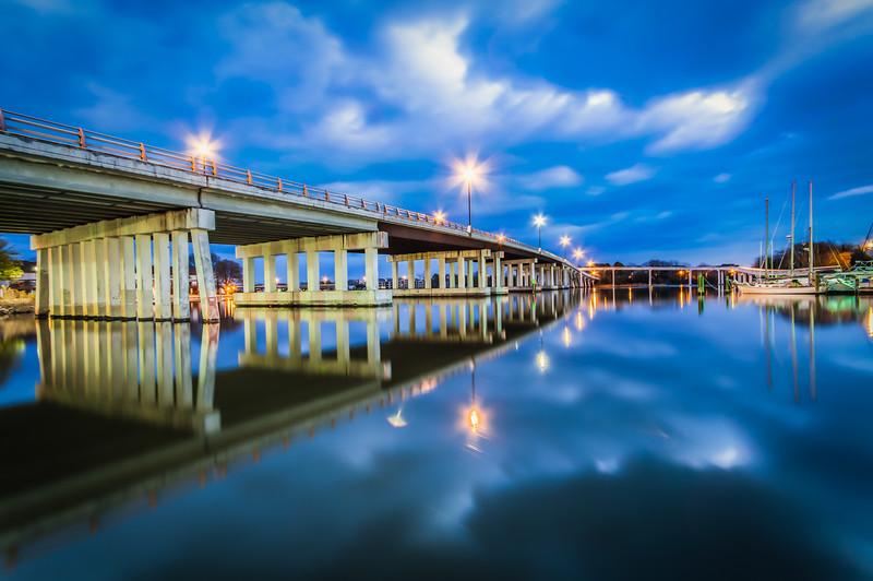 Blue Hour Overpass