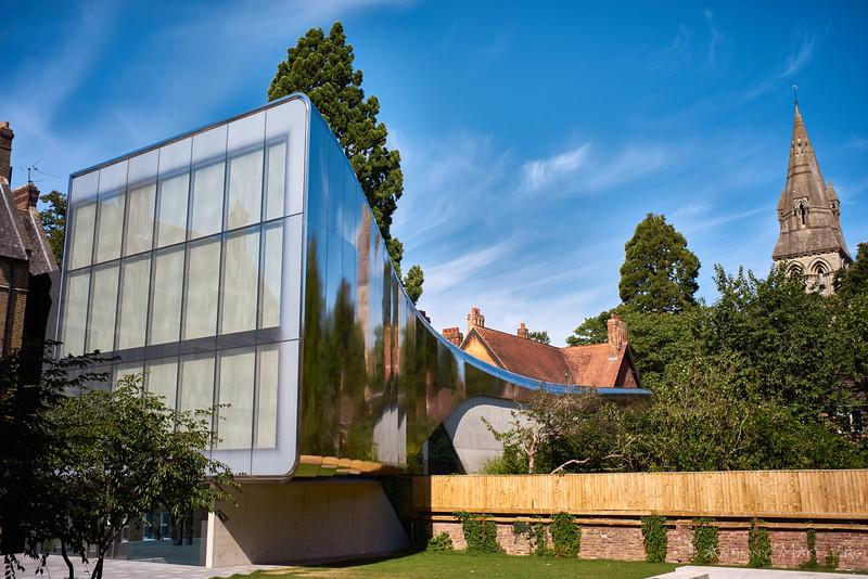 """Investcorp Building, St. Antony's College, Oxford"""