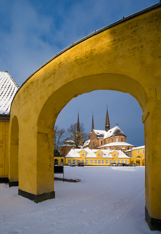 Portalized Cathedral in the Snow