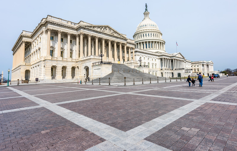 Divergent Lines at the US Capitol Building