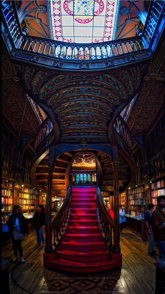 The Harry Potter Bookstore In Porto