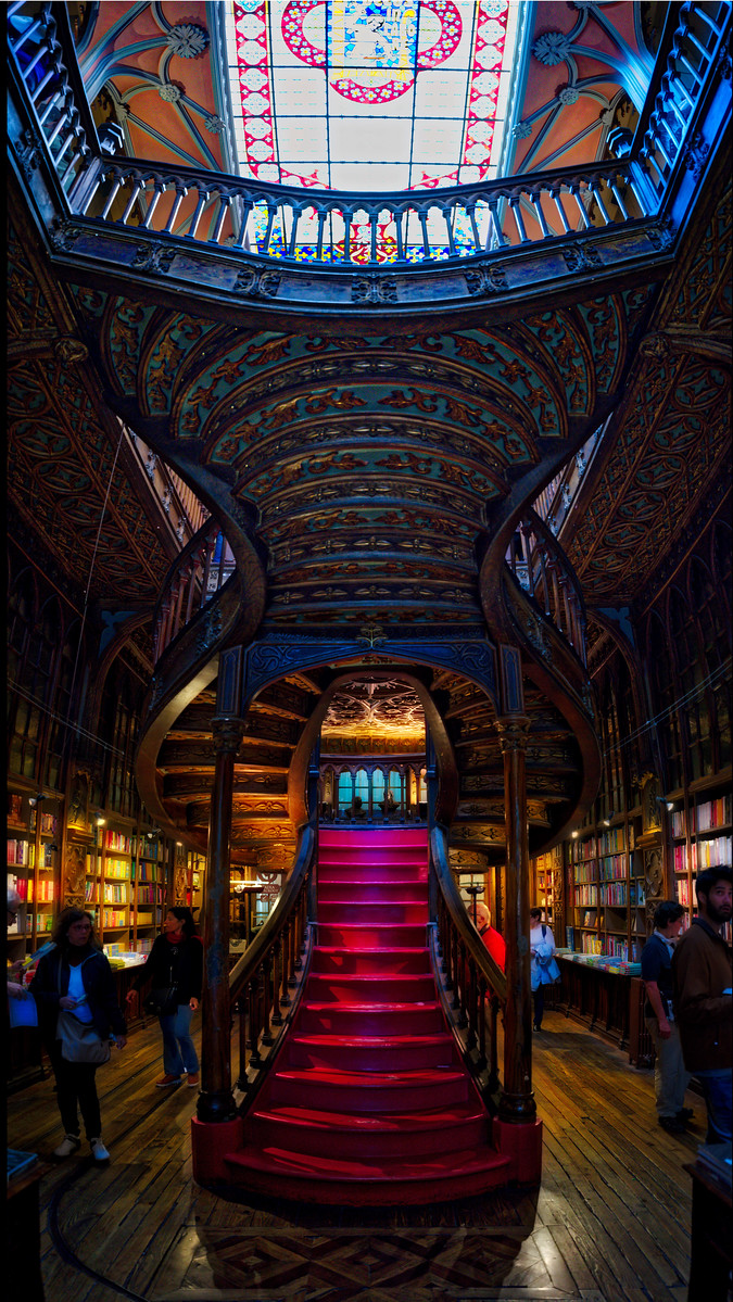 The Harry Potter Bookstore In Porto