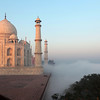 SUNRISE. TAJ MAHAL. AGRA. UTTAR-PRADESH. INDIA. [1]