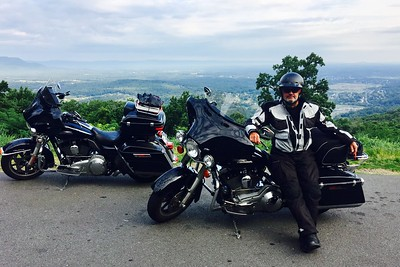 My 'new office', Skyline Parkway, near Front Royal, VA.