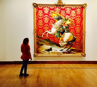 Kati explores the canvas wizardry of artist Kehinde Wiley at the OKCMOA.