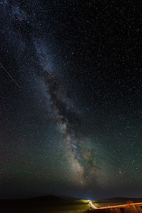 Milky Way Above Mongolia