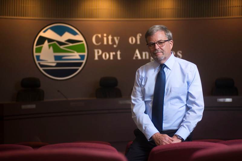 Former Port Angeles City Manager Dan McKeen. (Jesse Major/Peninsula Daily News)