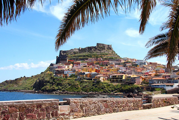 Castle of the Castelsardo, Sardinia, Italy