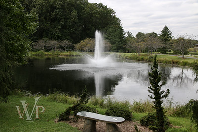 Fountain at Lake Caroline